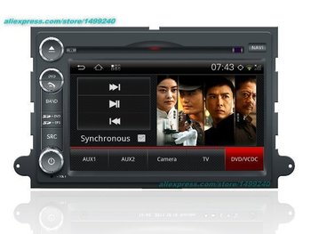 Lincoln Mark LT için 2007 ~ 2009-Araba Android GPS Navigasyon Radyo TV DVD Oynatıcı Ses Video Stereo Multimedya sistemi