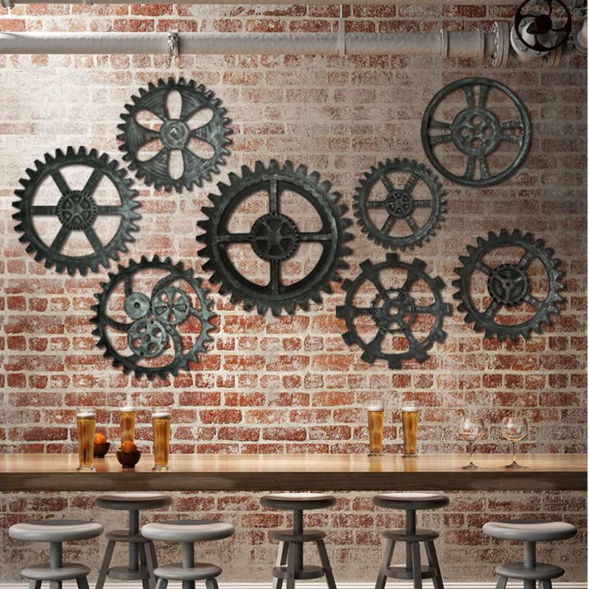 vintage industrial decor - HD1200×1200