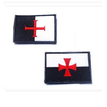 10pcs/lot 3D embroidery The Teutonic Knights patch Knights Templar patch The Knights Cross armband