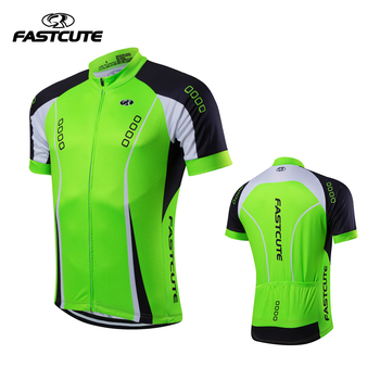 FASTCUTE Sakson 2017 Nefes Pro Cycling Jersey Yaz MTB Bisiklet Elbise Bisiklet Giyim Adam Ropa Maillot Ciclismo