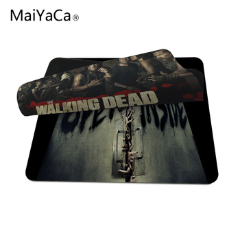 MaiYaCa Walking Dead Çılgın Zombi Gaming Mouse Mats Kaymaz Dikdörtgen Fare Gamer Için Gaming Mouse Paspaslar Mouse Pad