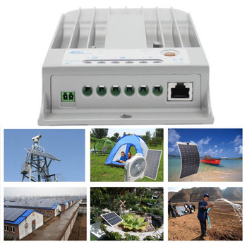 Professional Tracer1215BN Solar Charge Controller Heat Dissipation Aluminum Shell 10A MPPT Regulator Solar Controller